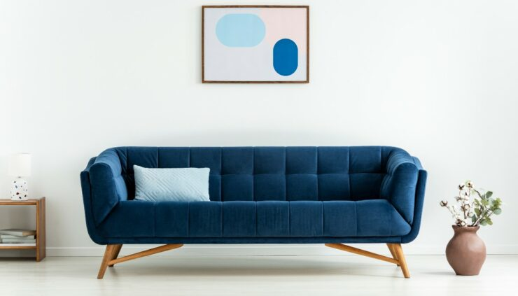 mid-century couch